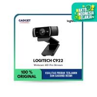 Logitech Webcam C922 HD 1080 Pro Stream - Garansi Resmi 1 Tahun