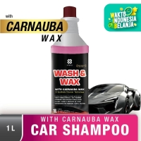 Shampoo Mobil dgn Carnauba Wax PRIMO Wash & Wax 1 L