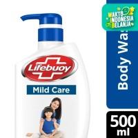 Lifebuoy Body Wash Sabun Mandi Cair Pump Mild Care 500Ml