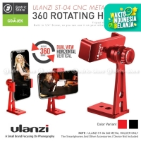 ULANZI ST-04 CNC Metal 360 Smartphone Clip HP Stand Holder Vlogging