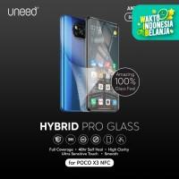 UNEED Hybrid Pro Anti Break Screen Protector Poco X3 NFC Full Cover