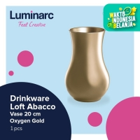Luminarc Drinkware Loft Abacco - Vase 20 cm Oxygen Gold - 1Pcs