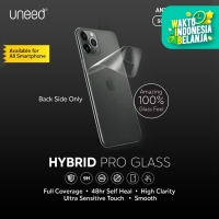 UNEED Hybrid Pro Anti Break Screen Protector Smartphone - Back Cover