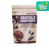 Granola Creation - Dark Chocolate & Banana Gourmet Mix 200 gr