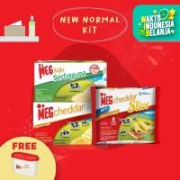 MEG Starter Pack - Keju 165g, Cheddar 170g, & Slice 8 (New Normal)