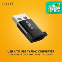 UNEED USB OTG 3.0 USB A to Type C Adapter Converter - UAT02CA