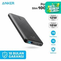 Powerbank Anker Powercore Slim 10000 PD Black - A1231