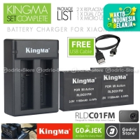 Kingma Paket Complete Set Battery Charger for Xiaomi Mijia Camera 4K