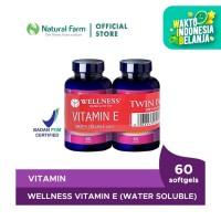 Wellness Natural Vitamin E-400 I.U Water Soluble (60) BOGO