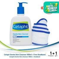 Cetaphil Gentle Skin Cleanser 500ML [Free Headband]