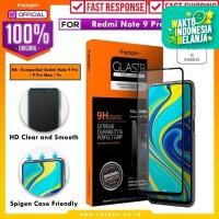 Tempered Glass Redmi Note 9 Pro Max/9 Pro/9s Spigen Glas tR Full Cover
