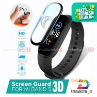 Antigores/Screen Protector Full Cover 3D Xiaomi Mi Band 5 Smart watch