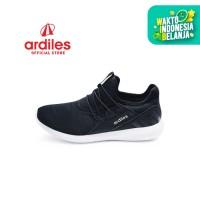 Ardiles Women Liliane Sepatu Running - Hitam - Hitam, 38