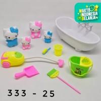 BABY BATH TUB TOYS - BONEKA LOVELY KITTY MAINAN BAYI BAK MANDI ANAK
