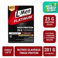 L-Men Platinum Choco Latte Box (6 Sch) - 25 gr Potein / Serving