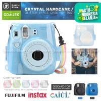 Fujifilm Hardcase GLITTER COLOR Polaroid Case Instax Mini 8 / 9 Casing