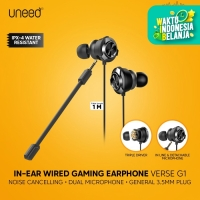 UNEED In-Ear Earphone Gaming Triple Driver & Dual Microphone - UEP131