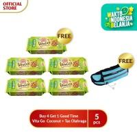 Buy 4 Get 1 Good Time Vita Go Coconut + tas olahraga