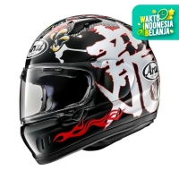 Arai XD DRAGON Black Original SNI Helm Full Face - BLACK