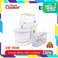 COSMOS hand & stand mixer with container CM 1589 / CM1589