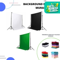 Background polos / background foto studio - 2.4x3 Meter - Beige