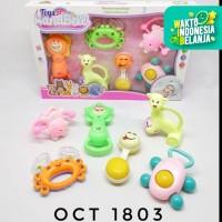 Mainan Anak Bayi Baby Toys Rattle Playset Teether Bunyi Bunyian