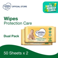 Cussons Baby Wipes Protect Care 50 Sheet X 2