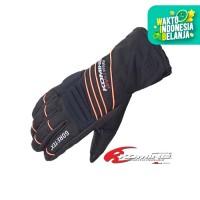 Komine GK-794 GTX Winter Glove Sarung Tangan Motor - Black Orange