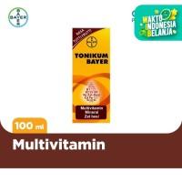 Tonikum Multivitamin, Mineral, dan Zat Besi Rasa Tutti Frutti 100ml