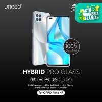 UNEED Hybrid Pro Anti Break Screen Protector Oppo Reno 4F Full Cover