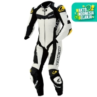 RSTAICHI Taichi NXL305 | GP-WRX R305 LEATHER Racing SUIT - White
