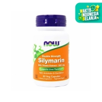 NOW Foods - Silymarin Milk Thistle 300 mg - 50 vcaps