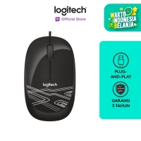 Logitech M105 HD Optical Mouse - Black