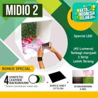 SPECIAL PROMO MagicBox Midio 2 Portable Mini Photo Studio Light Box