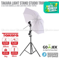Takara Spirit-1 Folded Light Stand Payung Umbrella Studio Spirit 1