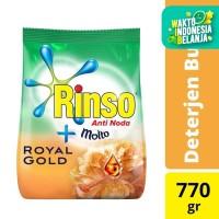 Rinso Molto Deterjen Bubuk Royal Gold 770G