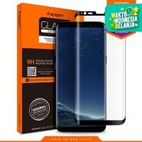 Spigen Glas tR Curved Tempered Glass Galaxy S8 - Black (1Pack)
