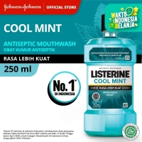 LISTERINE® Cool Mint Mouthwash / Obat Kumur 250ml