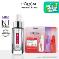 L'Oreal Paris Revitalift 1.5% Hyaluronic Acid Serum+ 3 Pro-Youth Mask