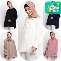 Baju Atasan Muslim Wanita Le Najwa Clarissa Kemeja
