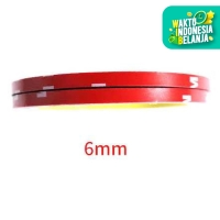 Double tape 3m Merah Double tip Lem 2 Sisi Kecil Besar VN3 Panjang 3M