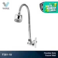 VONE F381-19 Keran Kran Air Fleksibel Angsa Sink Wastafel Cuci Piring