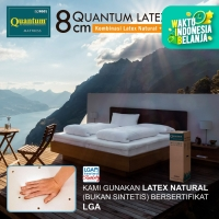 Quantum Latex Topper 160 x 200 Mattress / Kasur Springbed / Spring Bed