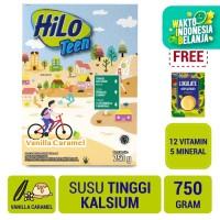 HiLo Teen Vanilla 750gr FREE Lokalate Kopi Alpukat (10 Sch)