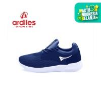 Ardiles Men Hamura Sepatu Running - Navy