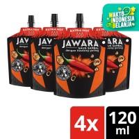 Jawara Saus Sambal Bawang Goreng Extra Hot Pouch 120Ml Multi Pack