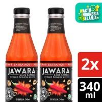 Jawara Saus Sambal Extra Hot 340Ml Twin Pack