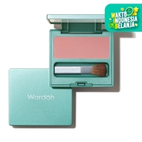 Wardah Exclusive Blush On 01 Rosy Pink 6.5 g