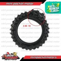 Ban Luar Motor Mini Trail 2.50-10 Ring 10 ( Offroad )