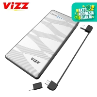 VIZZ POWERBANK CLEON VZ6800 6000 MAH QUICK CHARGE